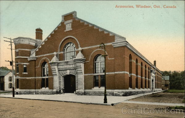 Armouries Windsor Canada Ontario