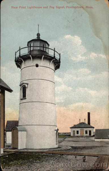 Race Point Lighthouse and Fog Signal Provincetown Massachusetts