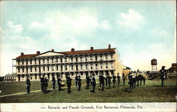 Fort Barrancas - Barracks and Parade Grounds Pensacola Florida