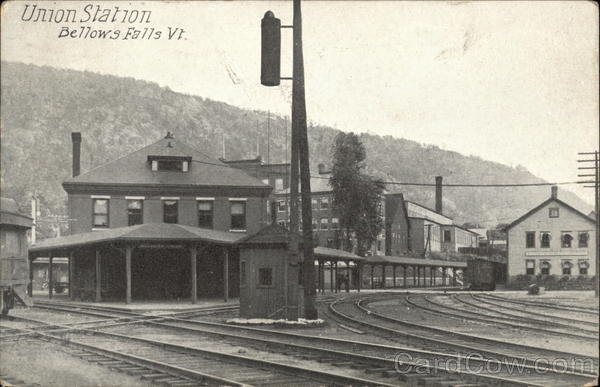 Union Station Bellows Falls Vermont
