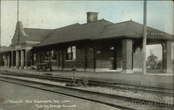 Railway Depot Mount Vernon Iowa