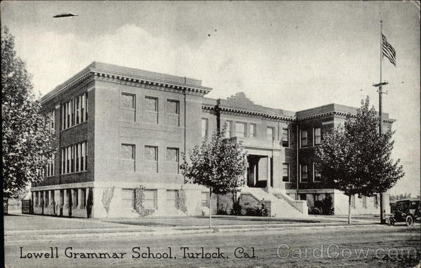 Lowell Grammar School Turlock California