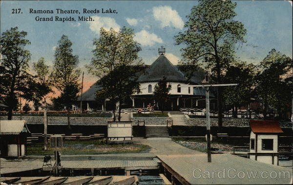 Ramona Theatre, Reeds Lake Grand Rapids Michigan