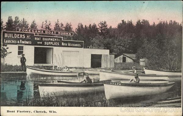 Boat Factory Chetek Wisconsin