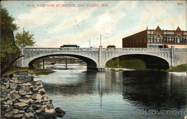 New Barstow St. Bridge Eau Claire Wisconsin