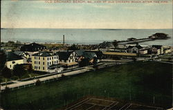 View of Old Orchard Beach After the Fire
