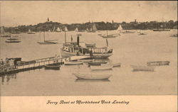 Ferry Boat at Marblehead Neck Landing