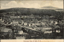 Birds-eye View of Bath, N.H