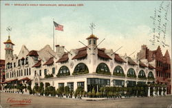 Spokane's Great Restaurant, Established 1889 Postcard