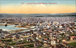 General View of Bellingham, Washington