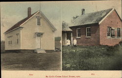 McCrillis Corner School Houses, 1909