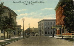 Gardner Hotel, Y.M.C.A. and Post Office
