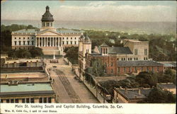 Main Street Looking South and Capitol Building
