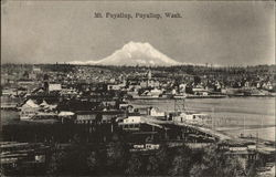 Aerial View, Mt. Puyallup in Background