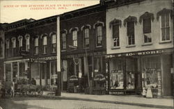 Scene of the Business Place on Main Street