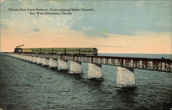 Florida East Coast Railway, Train crossing Moser Channel, Key West Extension