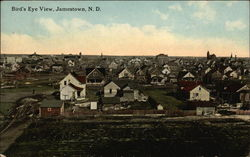 Bird's Eye View, Jamestown, N.D
