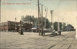 NP Depot and Square