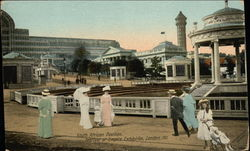 South African Pavilion Festival of Empire Exhibition, 1911 Postcard
