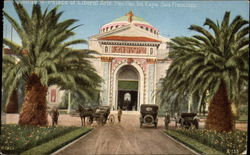 Entrance Palace of Liberal Arts, Panama-Pacific International Exposition, Feb. 20 to Dec. 4, 1915