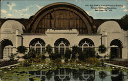 Lily Pond in Front of Botanical Building, Panama-California Exposition