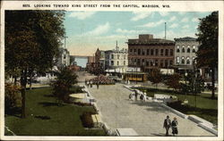 Looking Toward King Street from the Capitol
