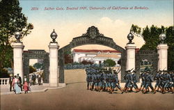 Sather Gate, Erected 1909, University of California at Berkeley
