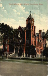 Steele County Court House Postcard