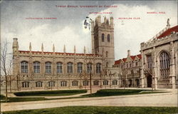 University of Chicago - Tower Group Postcard