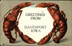 Greetings from Davenport Lobster Border