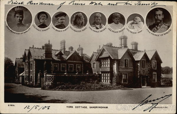 York Cottage Sandringham Residence Of Prince Of Wales