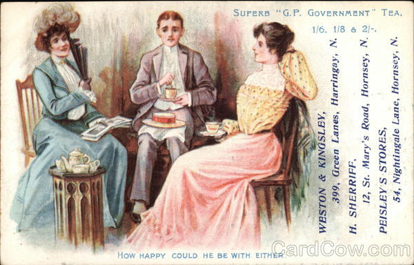G. P. Government Tea Advertising