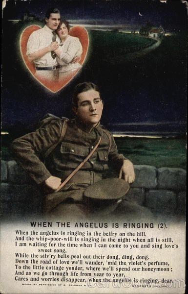 When The Angelus is Ringing - Soldier Romance & Love