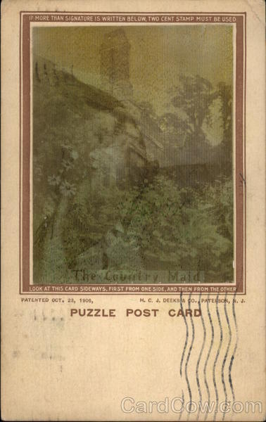 Puzzle Post Card