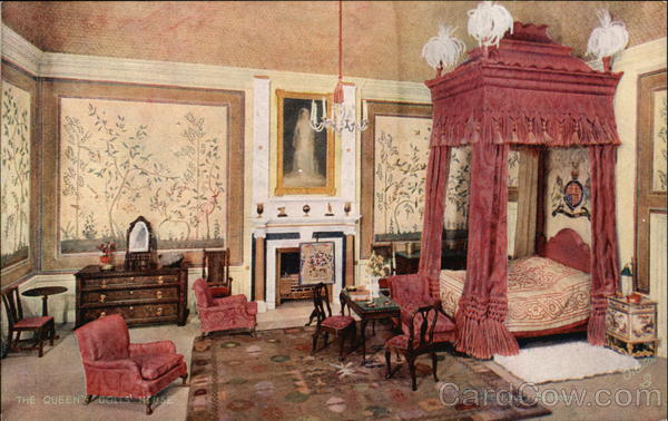 The Queen's Doll's House. The King's Bedroom UK