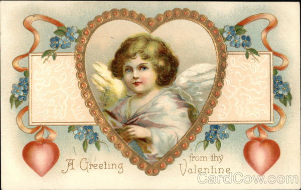 A Greeting from my Valentine Cupid