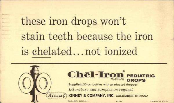 Chel-Iron* Pediatric Iron Drops Advertising