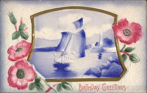 Birthday Greetings Airbrushed