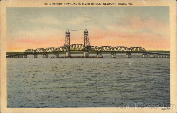 Newport News-James River Bridge Virginia