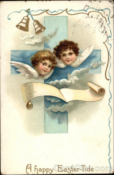 A Happy Easter-Tide With Angels