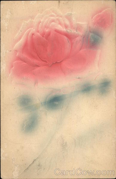 A Long-Stemmed Rose Airbrushed