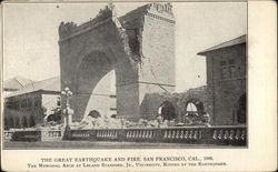 The Great Earthquake and Fire, San Francisco, CA 1906