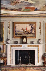The Queen's Dolls' House. Dining Room Fireplace