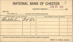 National Bank of Chester