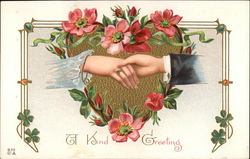 A Kind Greeting Postcard