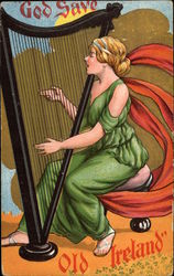 Irish Harpist