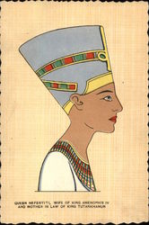 Queen Nefertiti, Wife of King Amenophis IV and Mother in Law of King Tutankhamun