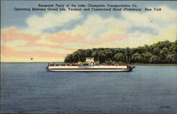 Roosevelt Ferry of the Lake Champlain Transportation Co