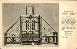 Symington's original marine steam engine, 1788 Postcard