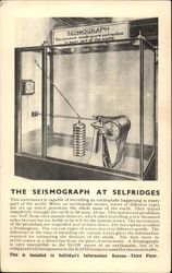 The Seismograph at Selfridges